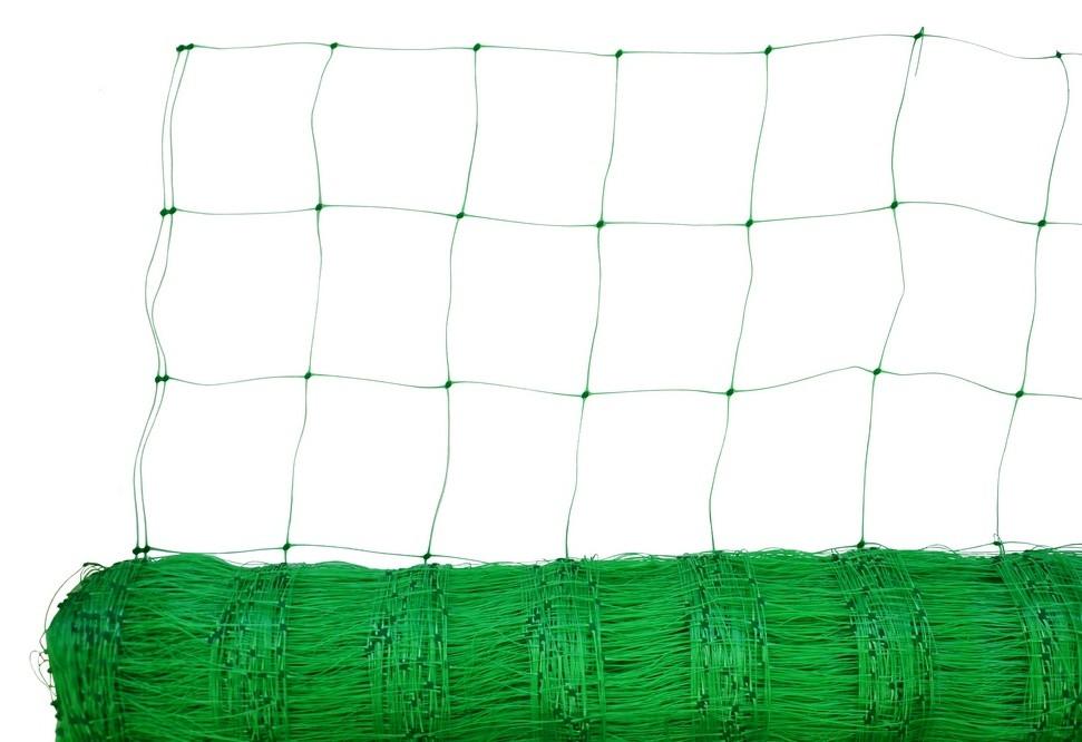 Сітка шпалерна Verano зелена 12 х 12 см 1.7 х 500 м (69-000)