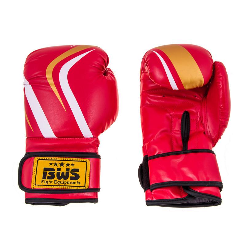 Боксерские перчатки CLUB BWS FLEX 10oz красный