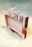 Подарункова коробка 295х210х30мм / уп-10шт