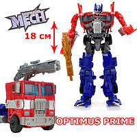 """Игрушка Оптимус Прайм робот трансформер, """"Красный Грузовик"""", Maya Toys"""