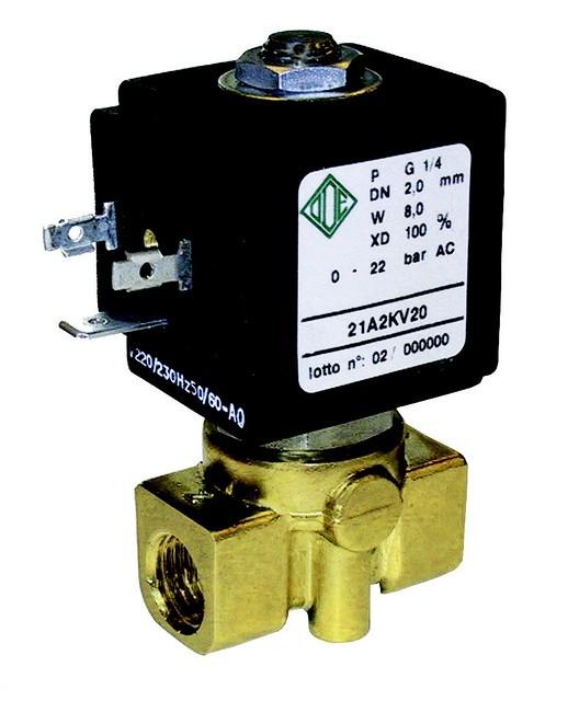 Электромагнитный клапан прямого действия ODE (Италия), купить, цена