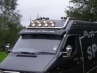 Верхняя дуга Mercedes Sprinter W906 (без противотуманок), фото 1