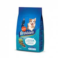 Brekkies (Бреккис) Dog Mix Fish - корм для собак с лососем, тунцом и овощами 4кг