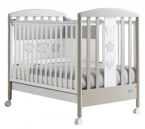 Кроватка Birillo Pali ,светло-серый