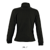 Женская флисовая куртка NORTH WOMEN, черный, SOLS, размеры от S до XXL, фото 2