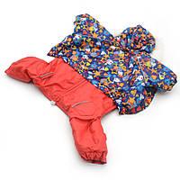 Комбинезон для собак Звездочка красный №0 25х40 см, фото 1