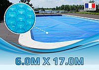 Солярная пленка для бассейна 6,00 м. х 17,00 м., 500 микрон