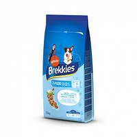 Акция! 2 мешка -17%,по 1191 грн каждый! Brekkies (Бреккис) Dog Junior 20+20 кг