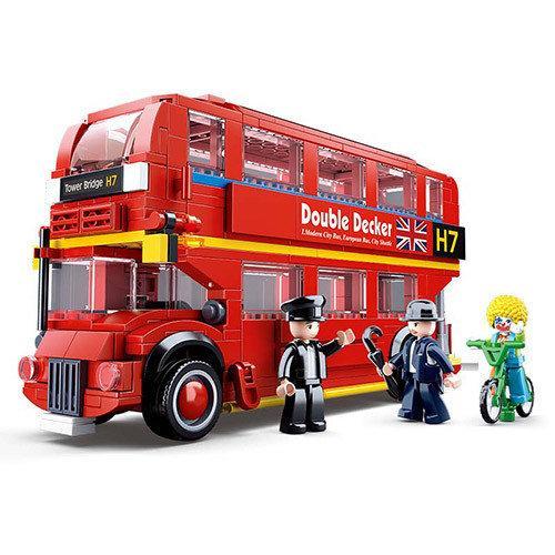 Конструктор SLUBAN  Лондонский автобус M38-B0708