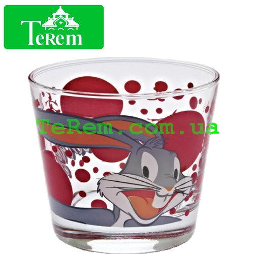 Набор стаканов 3 шт Bugs bunny 180 мл 42874