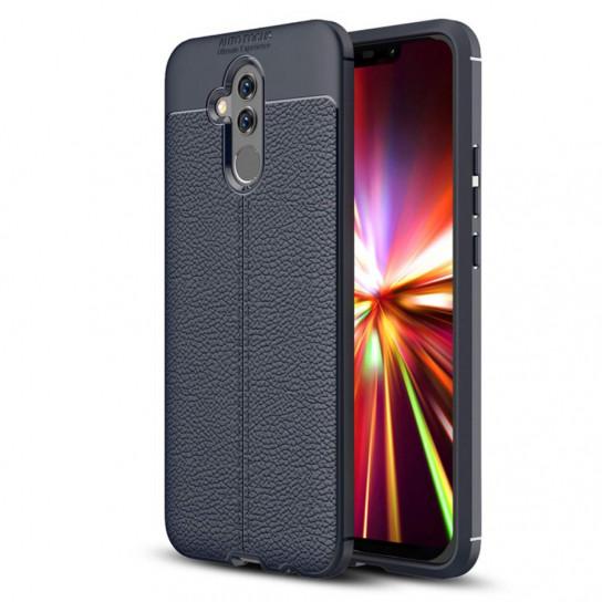 TPU чехол iPaky Litchi Series для Huawei Mate 20 lite