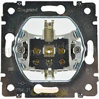 Розетка электрическая 2К+3 (16А, 250В , винтовые клеммы, немецкий стандарт) Legrand Galea Life (775921)