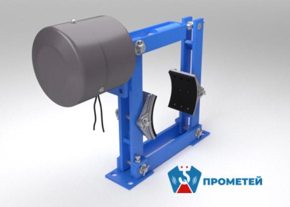 Колодочный тормоз ТКП-600