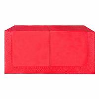 Салфетки бумажные Красные 33х33  2-х слойные (200шт/уп)