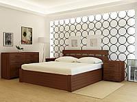 """Кровать деревянная TM """"YASON"""" Tokyo PLUS с подъемным механизмом (Массив Ольхи либо Ясеня), фото 1"""