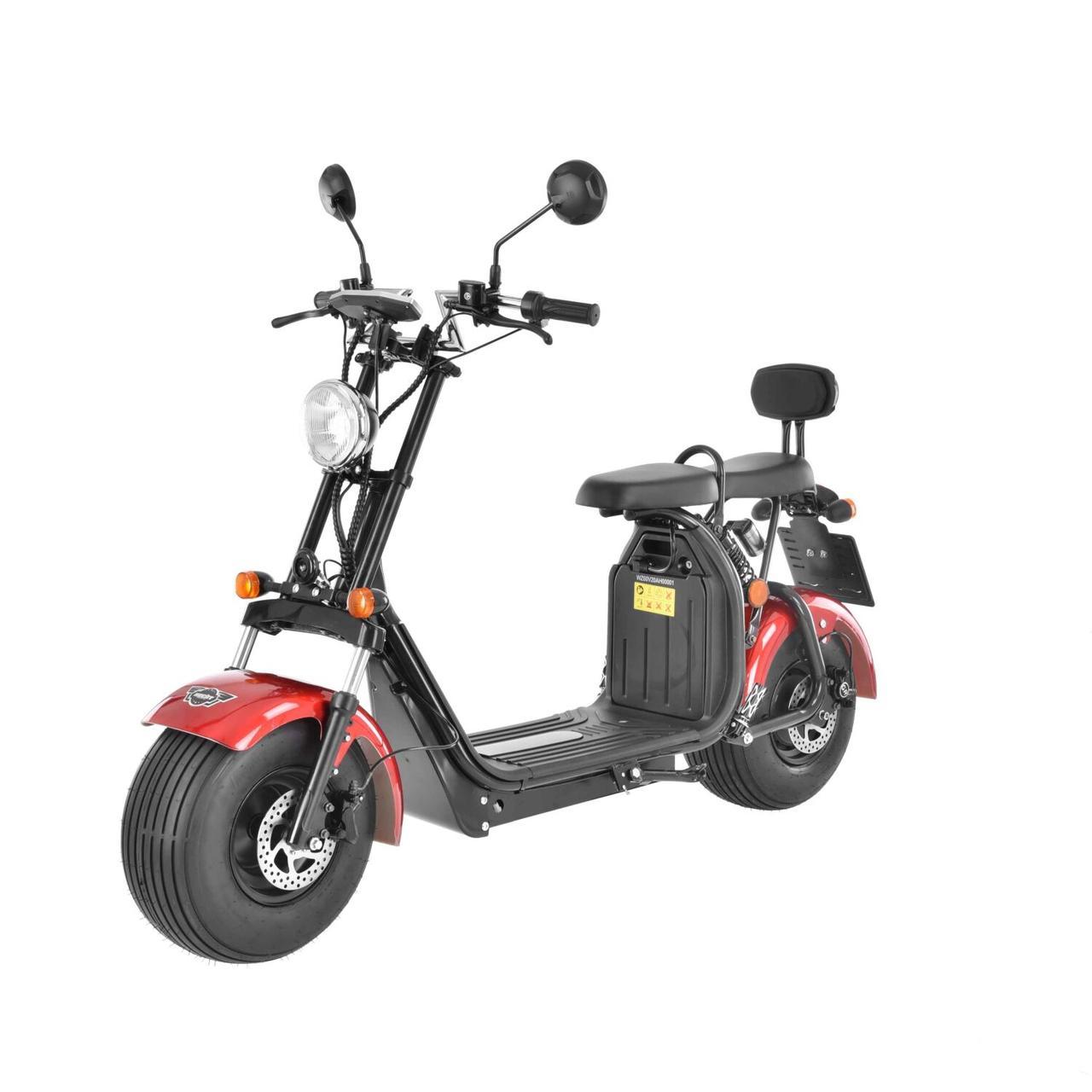 Скутер электрический HECHT COCIS RED