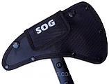 Топорик томагавк SOG, пиксель, фото 5