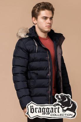 Мужская зимняя куртка с мехом (р. 46-56) арт. 16115D, фото 2