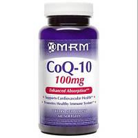 Коэнзим Q10 (убихинон) + витамин Е 100 мг 60 капс болезни сердца гипертония   хроническая усталость  MRM USA