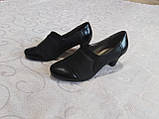 Закрытые туфельки на каблуке, фото 3