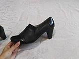 Закрытые туфельки на каблуке, фото 2