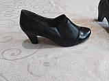 Закрытые туфельки на каблуке, фото 5