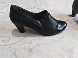 Закрытые туфельки на каблуке, фото 7