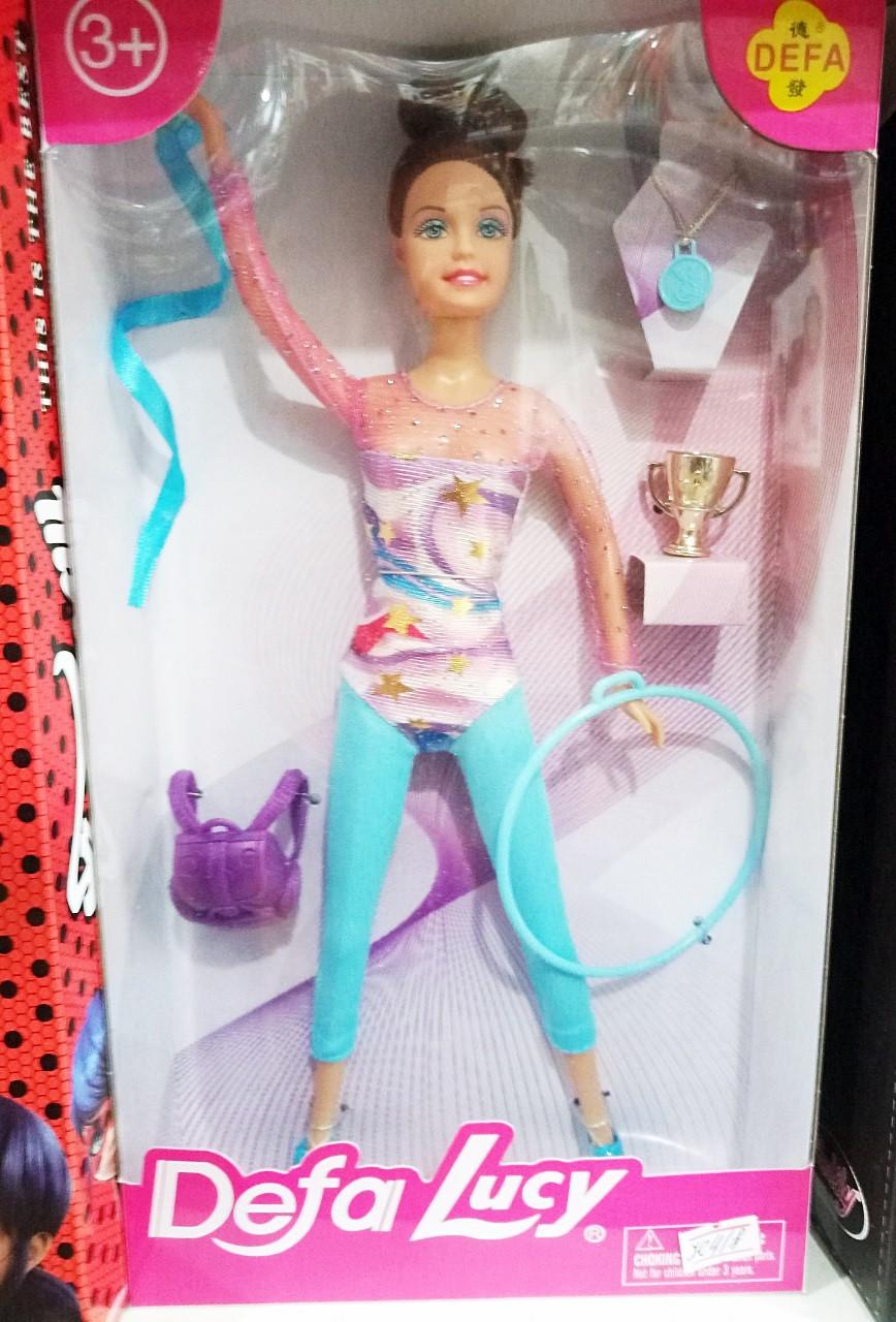Кукла гимнастка с аксессуарами