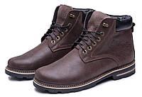 Суперские в стиле Wrangler Мужские зимние ботинки натуральная кожа обувь сапоги