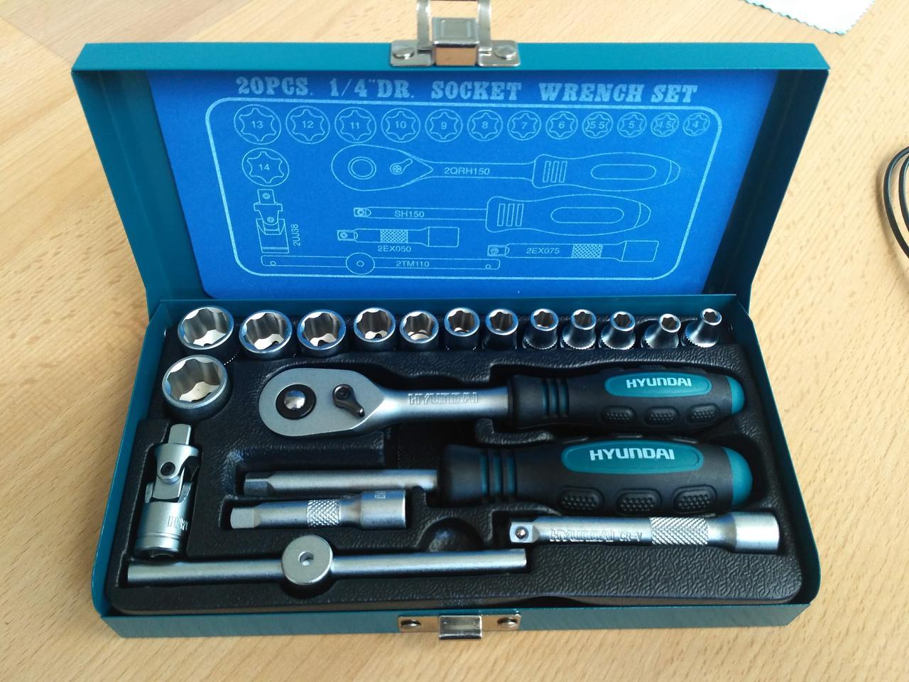 Набор инструментов Hyundai K-20 (20 шт.)