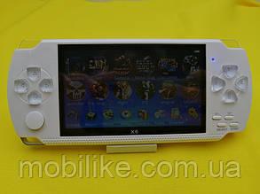 Портативная приставка PSP X6 ВСТРОЕННО 9999 ИГР (Белый)