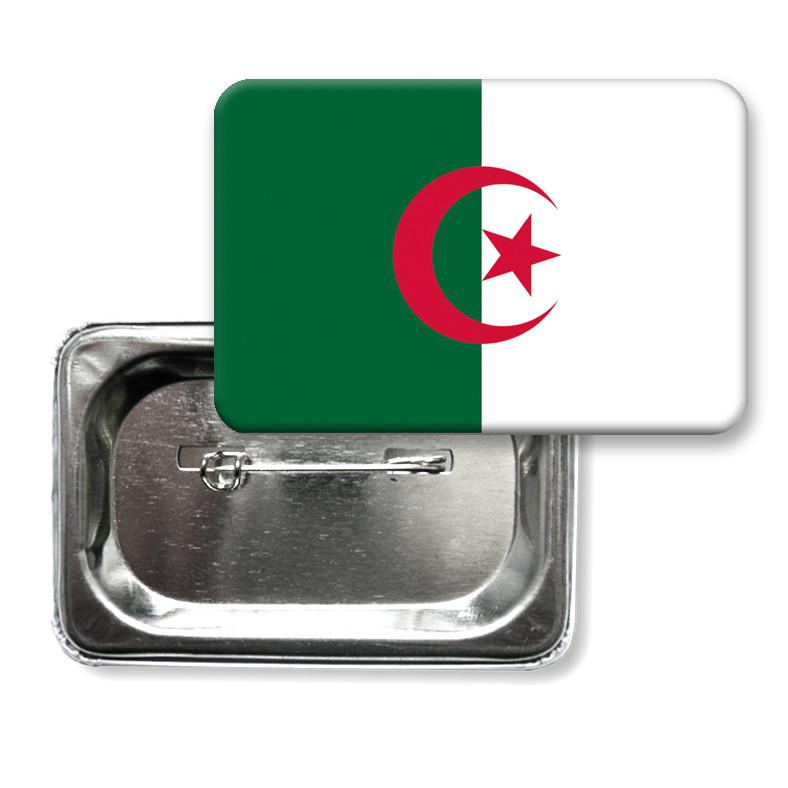 "Закатной значок ""Флаг Алжира"""