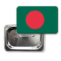 "Закатной значок ""Флаг Бангладеша"""