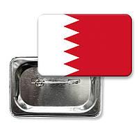 "Закатной значок ""Флаг Бахрейна"""