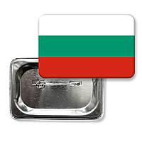 """Закатной значок """"Флаг Болгарии"""""""