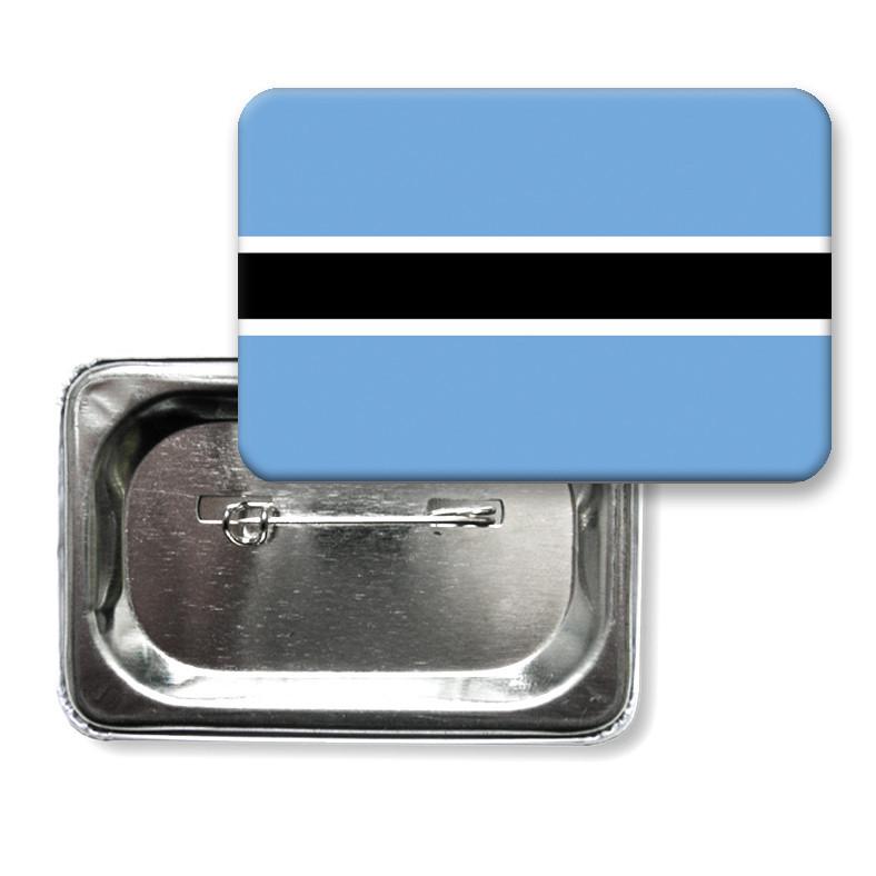 """Закатної значок """"Прапор Ботсвани"""""""