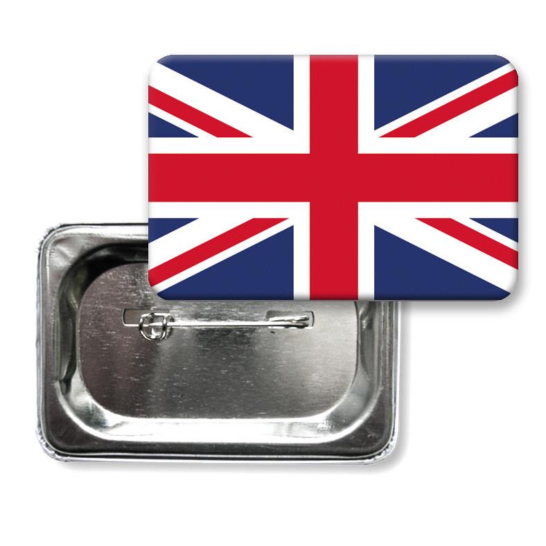 "Закатной значок ""Флаг Британии"" (""Флаг Великобритании"")"