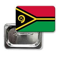 """Закатной значок """"Флаг Вануату"""""""