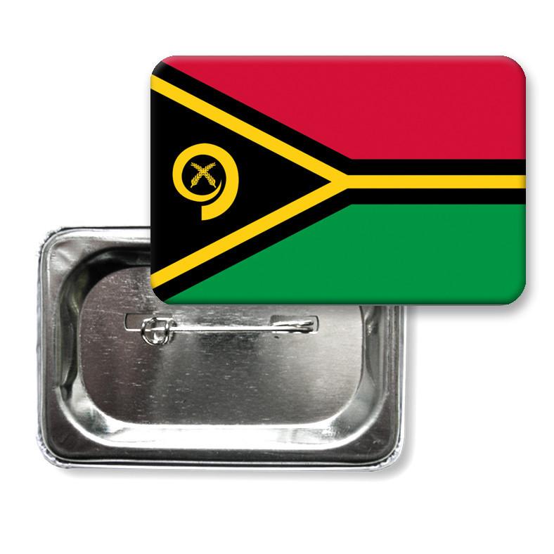 """Закатної значок """"Прапор Вануату"""""""