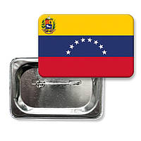 """Закатної значок """"Прапор Венесуели"""""""