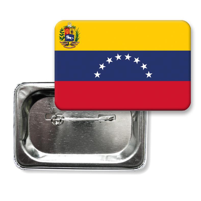 """Закатной значок """"Флаг Венесуэлы"""""""