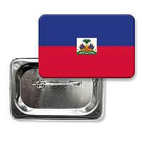 """Закатной значок """"Флаг Гаити"""""""