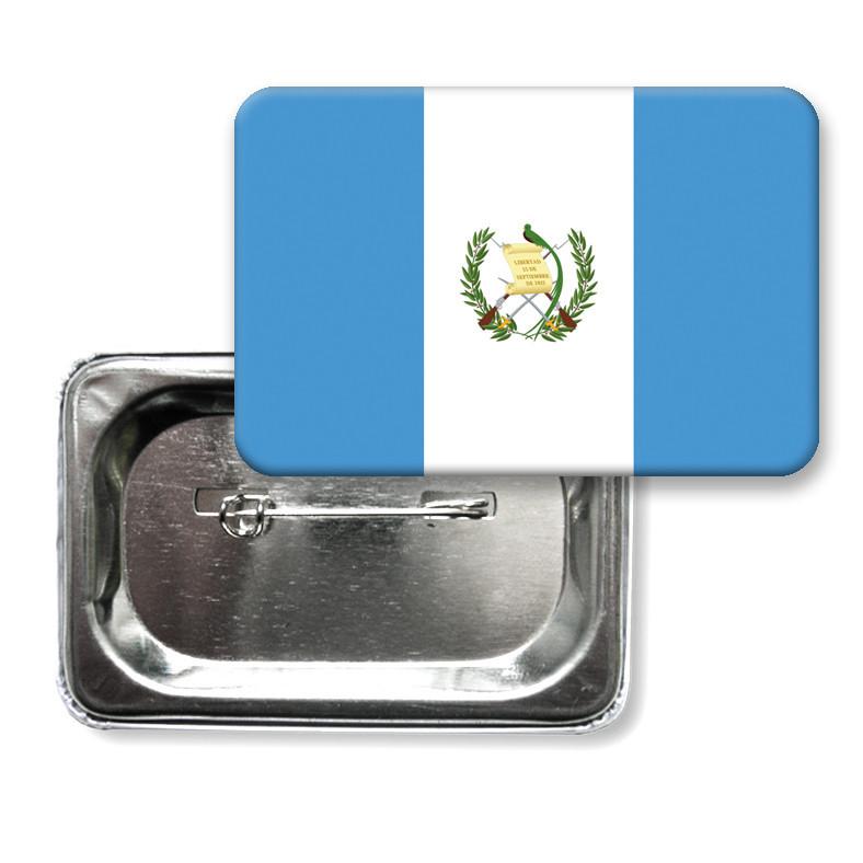 """Закатной значок """"Флаг Гватемалы"""""""
