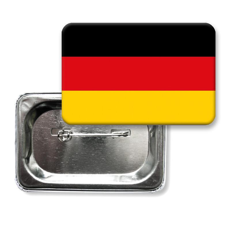 """Закатной значок """"Флаг Германии"""""""