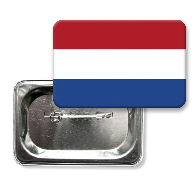 """Закатной значок """"Флаг Нидерландов"""" (""""Флаг Голландии"""")"""