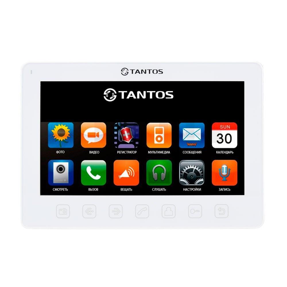"""Видеодомофон Tantos Prime Slim 7"""" (White), фото 1"""