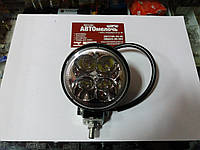 Фара додаткового світла (вузький промінь) LED 4 діода 12W 12-24V