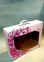 Подарункова коробка 350х270х90мм / уп-10шт