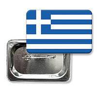 "Закатної значок ""Прапор Греції"""