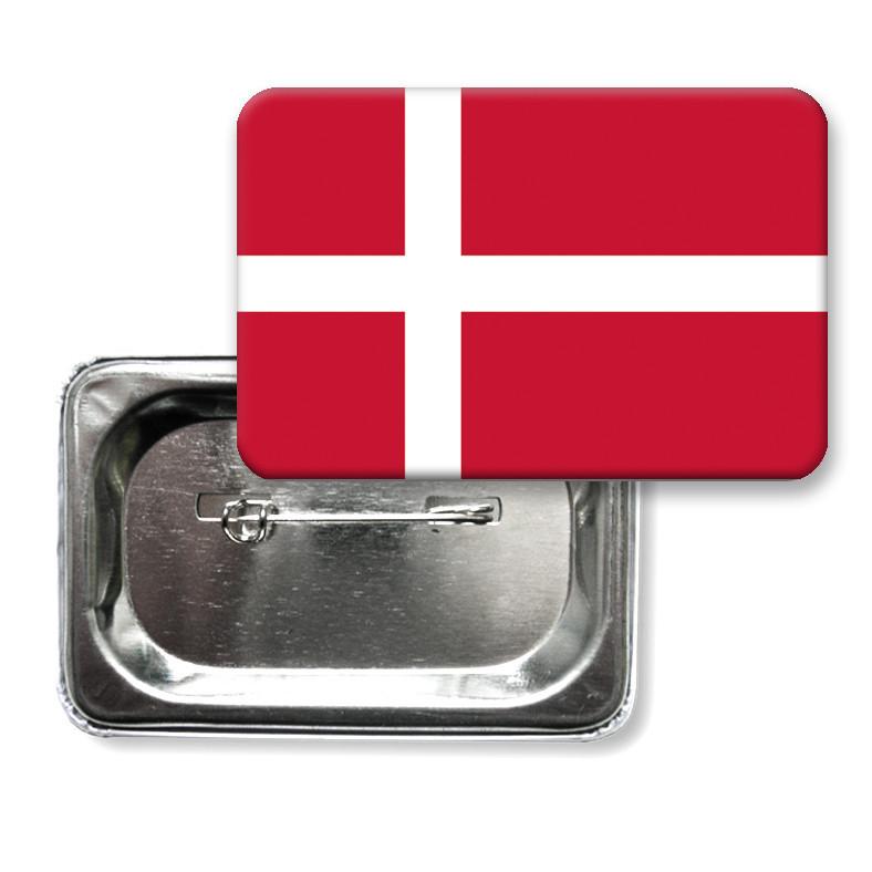 "Закатной значок ""Флаг Дании"""